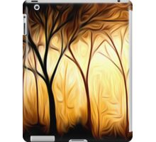 Abstract Trees Oil Painting #6 iPad Case/Skin