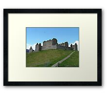 Barracks on the Hill Framed Print