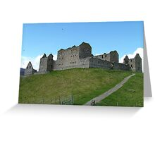 Barracks on the Hill Greeting Card