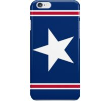 Patriotic Red White and Blue Stars and Stripes iPhone Case/Skin