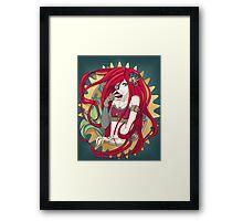 Steampunk Ariel Framed Print