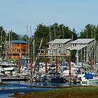 Working Harbor #2 (Masset, Haida Gwaii, British Columbia, Canada, August 2010) by Edward A. Lentz