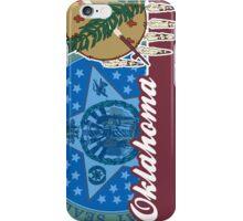 Oklahoma State Flag Seal iPhone Case/Skin