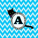 A Cat Chevron Monogram by gretzky