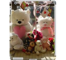 Waiting For Children To Take Them Home iPad Case/Skin