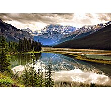 Along the Icefield Parkway, Jasper NP Photographic Print