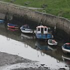 Boats and their reflection&#x27;s at Seaton Sluice by JenaHall
