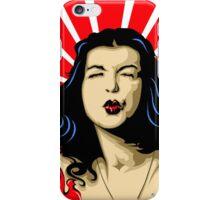 Pucker up sweetheart! iPhone Case/Skin