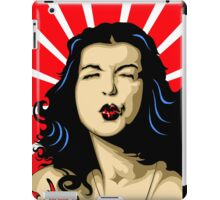 Pucker up sweetheart! iPad Case/Skin