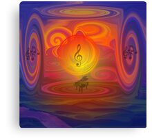 Let The Music Play- Art + Products Design  Canvas Print