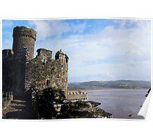 Castle Ruins Poster