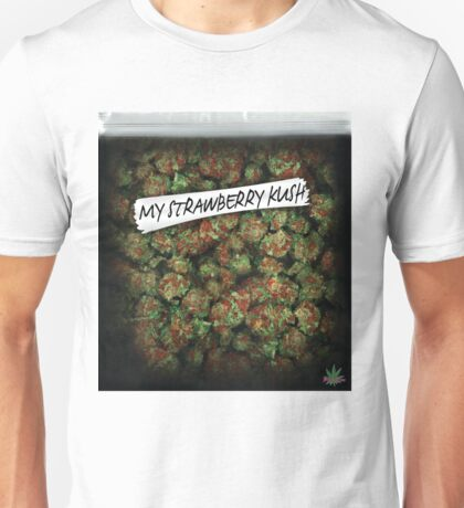 WEED BAG strawberry kush Unisex T-Shirt