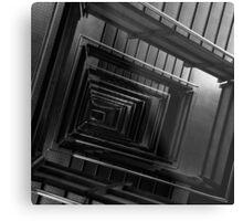 Stairway down Metal Print