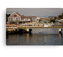 Fishing Village Nova Scotia Canada Canvas Print