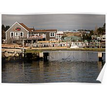 Fishing Village Nova Scotia Canada Poster