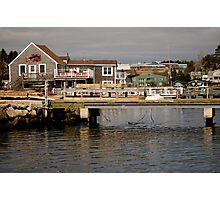 Fishing Village Nova Scotia Canada Photographic Print