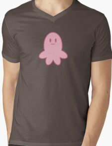Star's pink octopus - Svs FOE Mens V-Neck T-Shirt