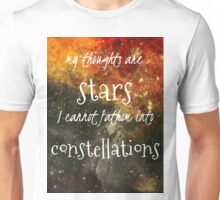 TFIOS Galaxy Quote Unisex T-Shirt