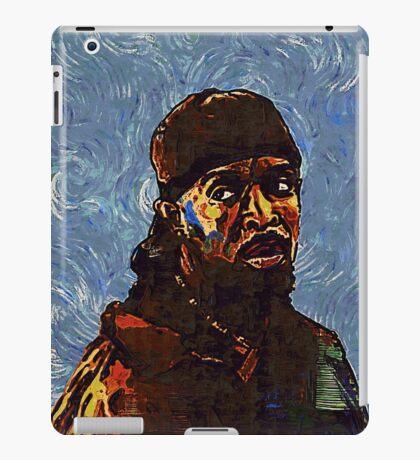 Omar Little by VanGogh - www.art-customized.com iPad Case/Skin
