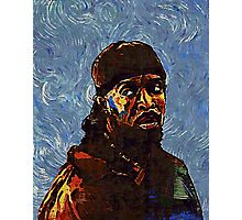 Omar Little - by Van Gogh Photographic Print