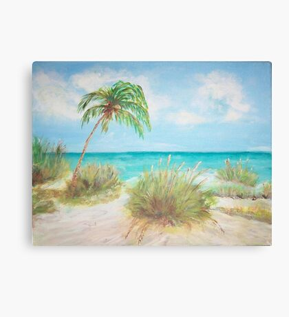 Island View Canvas Print