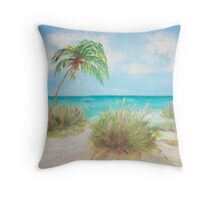 Island View Throw Pillow