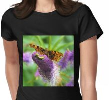 Comma Butterfly, Dorset UK Womens Fitted T-Shirt