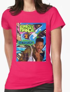 Fresh Prince 4 President Womens Fitted T-Shirt