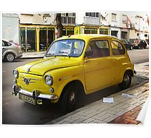 Seat 600 D Poster
