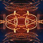 Dancing rays of light by AMartshop