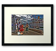 Fine Tuners Framed Print