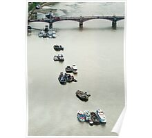 The Thames From The Eye Poster