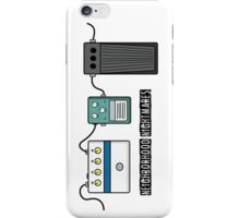 Neighborhood Nightmare - Guitar pedals iPhone Case/Skin