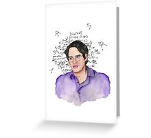 Bruce Banner profile Greeting Card
