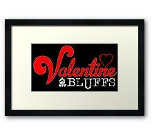 Valentine Bluffs Framed Print