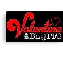 Valentine Bluffs Canvas Print