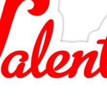 Valentine Bluffs Sticker