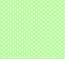 Green Summer Polka Dots by LazyQueen