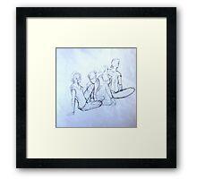 """""""Four Moves"""" Framed Print"""
