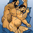 Snuggle Bear and Cuddle Cub by mancerbear