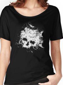 Splat Skull t shirt Women's Relaxed Fit T-Shirt
