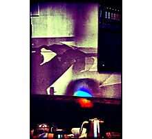 Café. Lomography Photographic Print