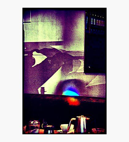 Café. Lomography Photographic Print