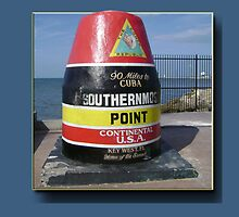Southernmost point in Continental USA by Jorge H. Elias