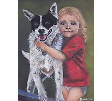 Girl's Best Friend Photographic Print