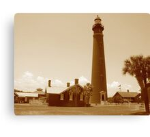 Ponce de Leon Inlet House light Station  Canvas Print
