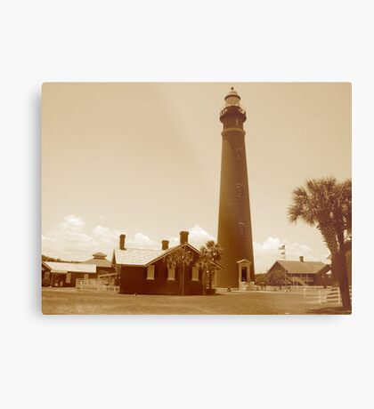 Ponce de Leon Inlet House light Station  Metal Print