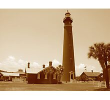Ponce de Leon Inlet House light Station  Photographic Print
