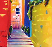 Fauves Alley by Kieran  Sturgeon