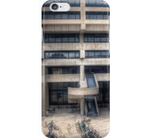 Helen C. White Hall Plaza iPhone Case/Skin